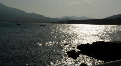 Atardecer en La Isleta del Moro