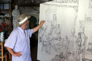 Clemente Gerez, artista de Garrucha