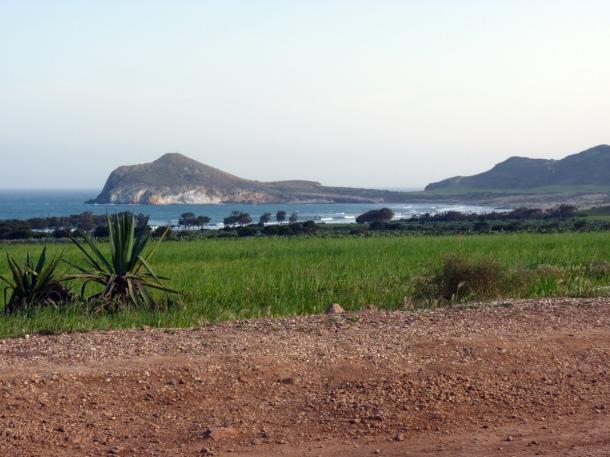 Vista Parque Natural de Cabo de Gata