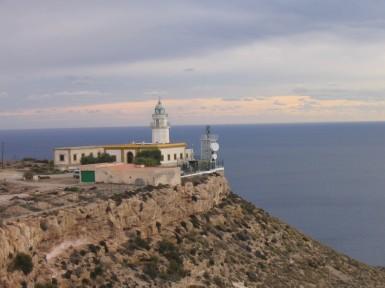 Vista del Faro de Mesa Roldán