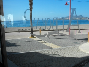Paseo de Carboneras en el Alboran Hotel Restaurante
