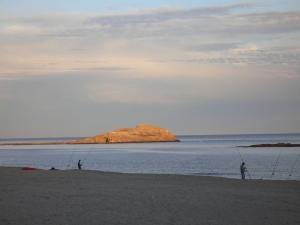 Atardecer en Carboneras viendo la Isla de San Andrés