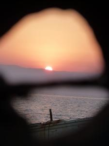 Puesta de sol en Cabo de Gata