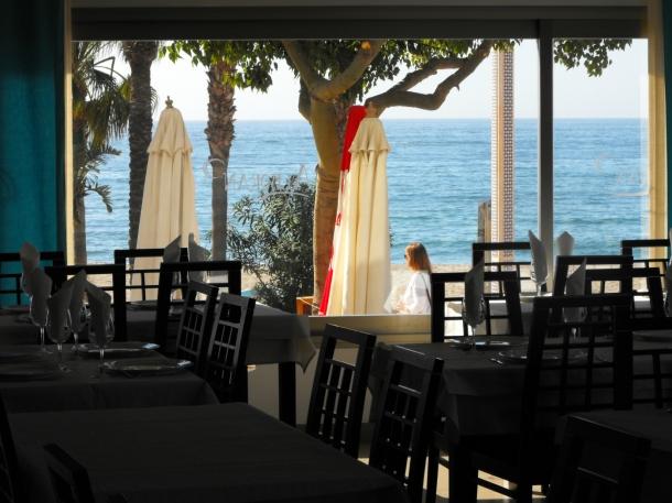 Vistas desde Alboran Hotel Restaurante