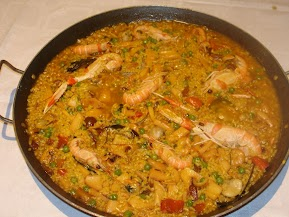 Arroz del Hostal Restaurante Playa Azul