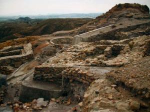 Restos arqueológicos en Villaricos