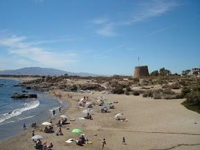 Vista desde el Hostal Restaurante Playa Azul