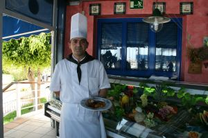 Jaime Navarro cocinero del Rincón del Puerto