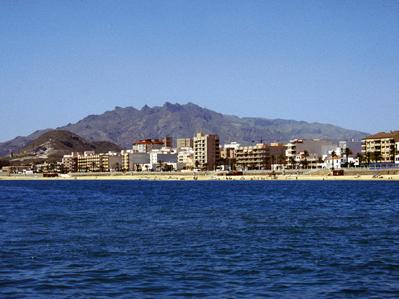 Vista de Garrucha