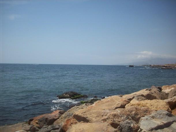 Vista desde Villaricos