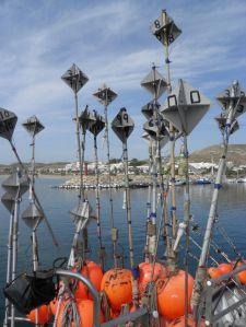 Palangres para la pesca del pez espada