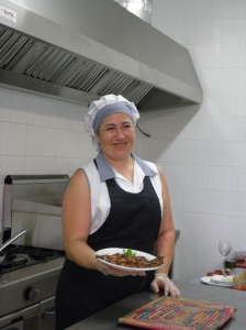Ana María Palenciano de Catering ALPASO