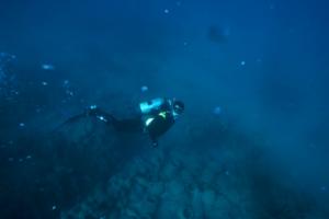 Buzo de Ánforas de mar
