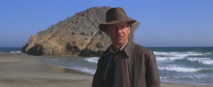Indiana Jones en la playa de Monsul
