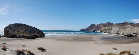 Playa de Monsul en Cabo de Gata