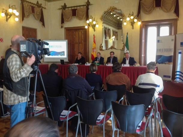 Karlos María Goñi, José Manuel Ortiz, Antonio Jesús Rodríguez y Juan Valero.
